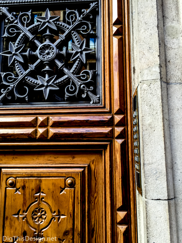 The details in a Spanish doorway in Barcelona. & Magnificent Doors of Spain - Dig This Design Pezcame.Com