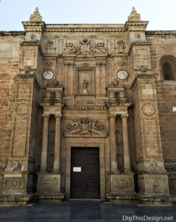 Almeria, Spain - Cathedral of Almeria.