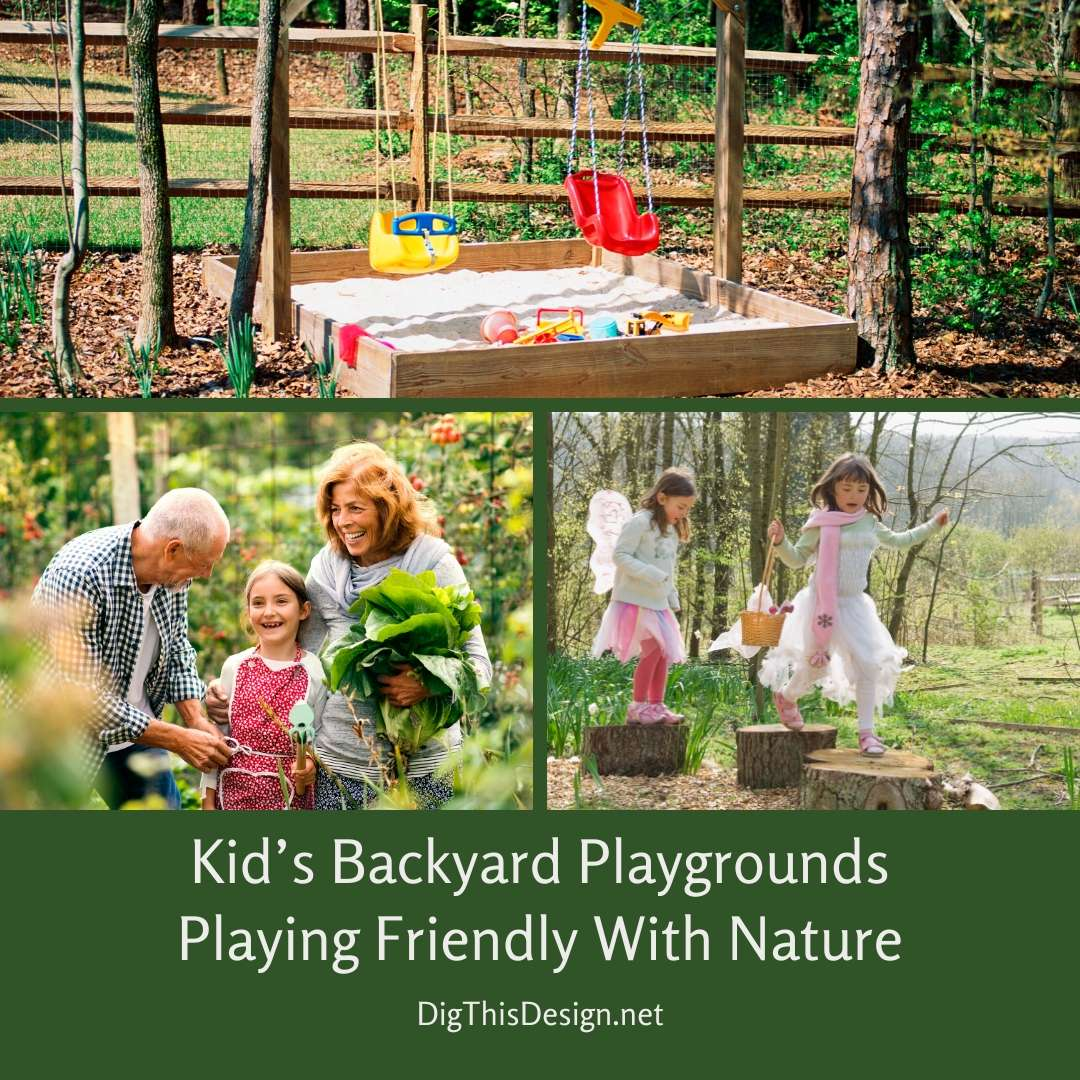 Kid's Backyard Playgrounds