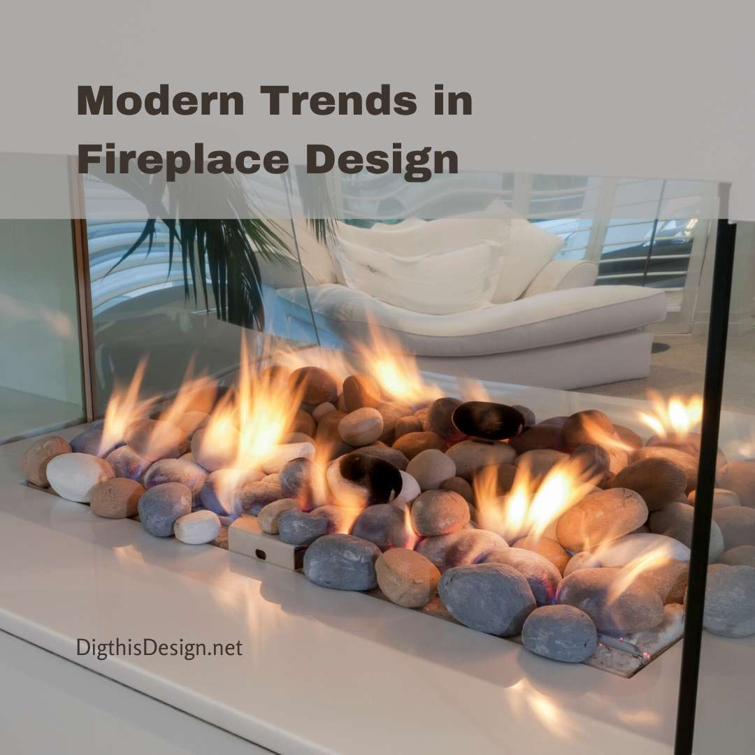 Modern Trends in Fireplace Design