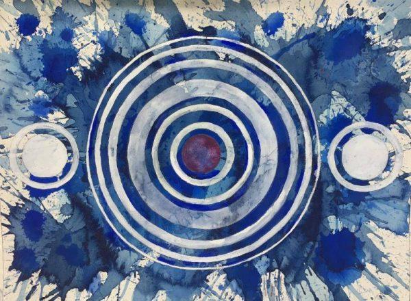 Steven Manolis - Happy birthday America Series Blue