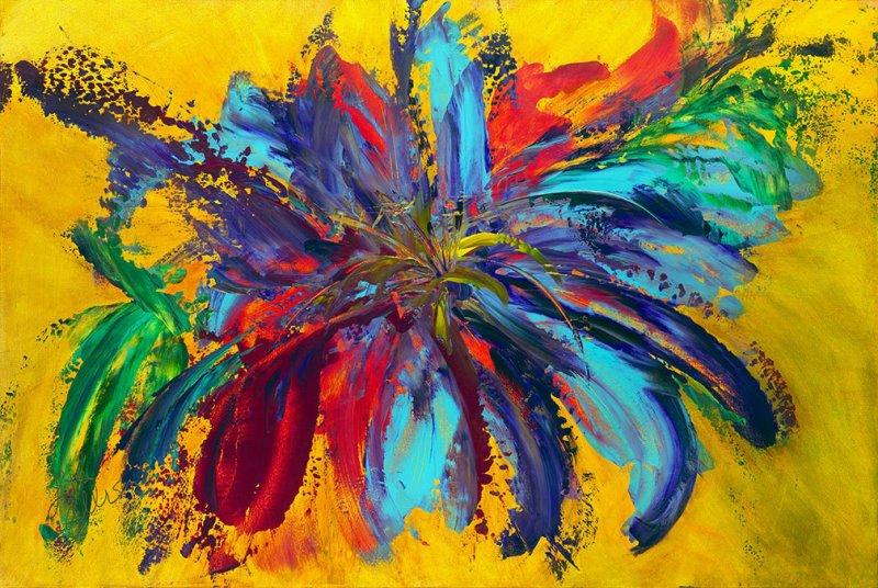Lisa Jill Allison - bursting flower