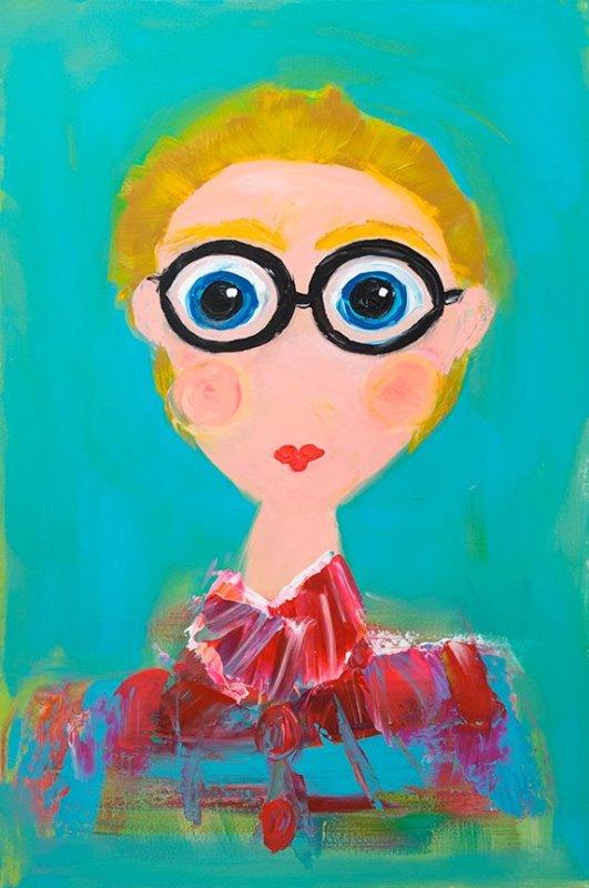 Lisa Jill Allison - girl with glasses