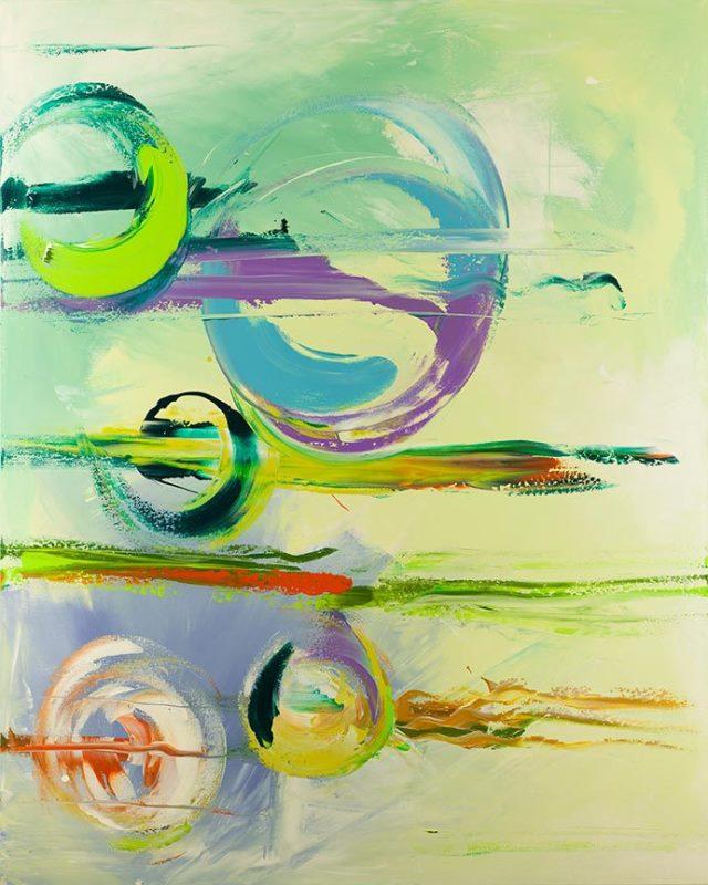 Lisa Jill Allison - sideways abstract