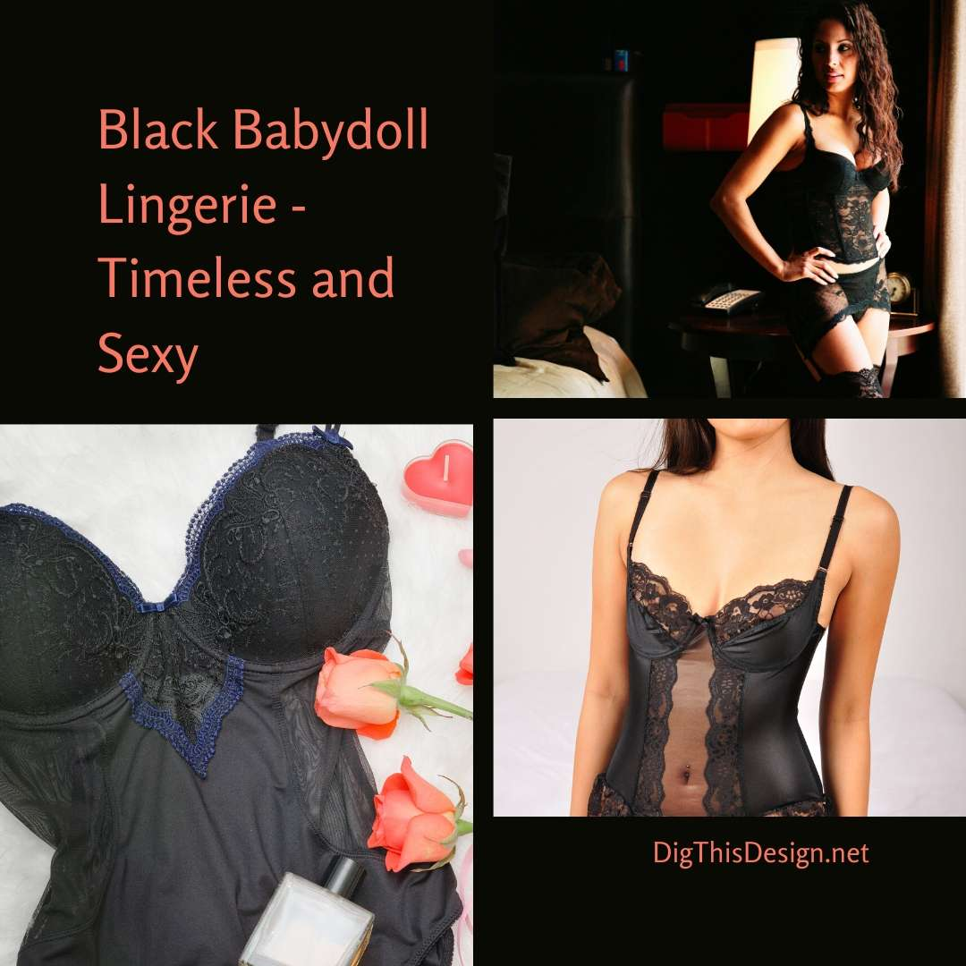 Black Babydoll Lingerie - Timeless and Sexy