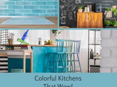 Colorful Kitchens That Wow!