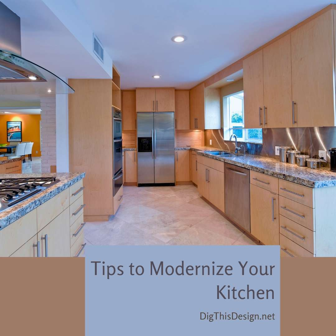 Tips to Modernize Your Kitchen