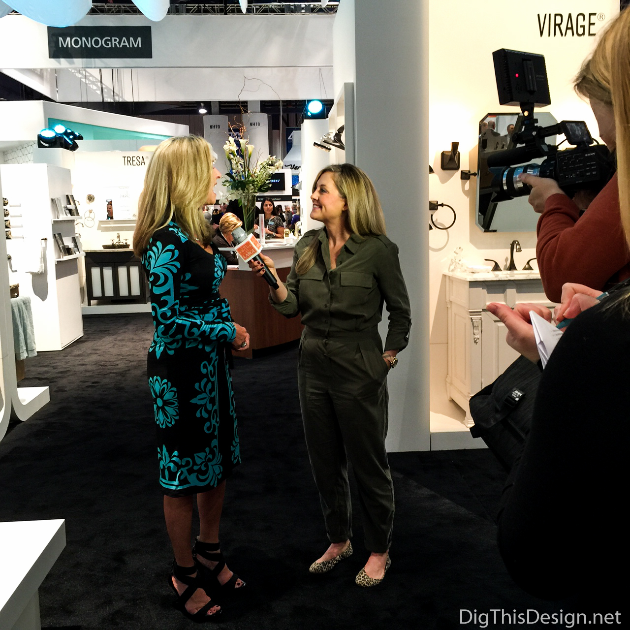 Kitchen and Bath Industry Show - Patricia Davis Brown being interviewed by Editors at Large on 2016 Trends