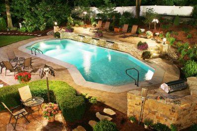 In-ground pool - vinyl pool design