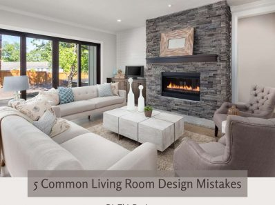 5 Common Living Room Design Mistakes