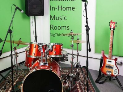 Beautiful In-Home Music Rooms