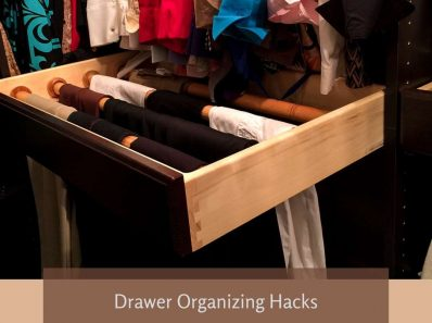 Drawer Organizing Hacks