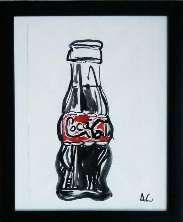 Adam Cook - Coke Bottle Art