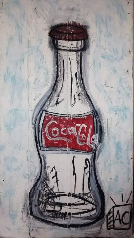 Artist Adam Cook - Obsession with coke bottles.