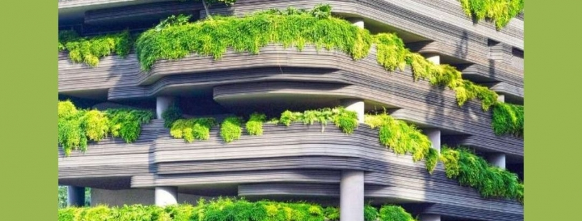 Green Parking Designs Beautify City Living