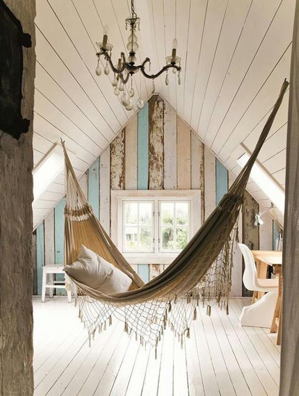 bedroom hammocks. In Home Hammock  Swinging ceiling hammock designed for attic Designs Adds Peaceful D cor Dig This Design