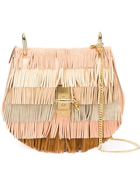 Cowgirl Style - Chloé 'Drew' fringed shoulder bag
