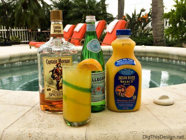 Labor Day Cocktail - Spiced Orange Rum