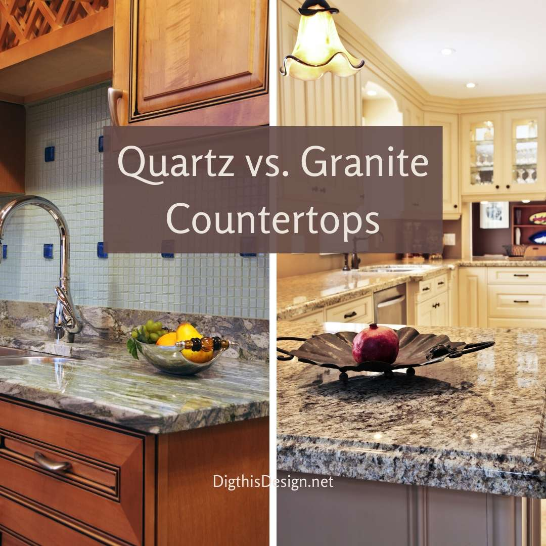 Comparison Between Granite vs Quartz Countertops