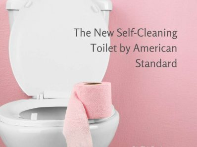 The New Self-Cleaning Toilet by American Standard