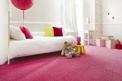 Flooring - Carpeted kids bedroom.