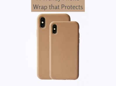 A Trendy Phone Wrap that Protects