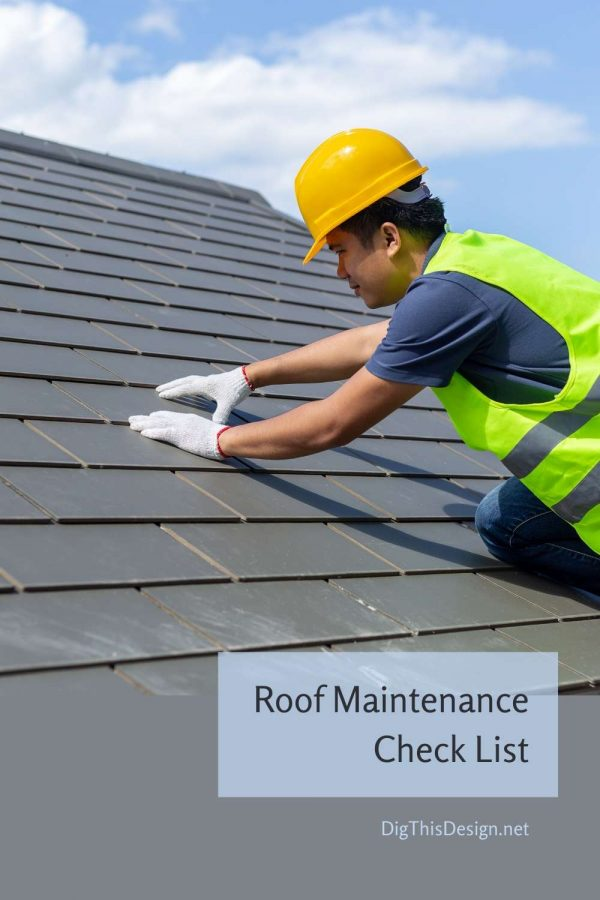 Roof Maintenance Check List