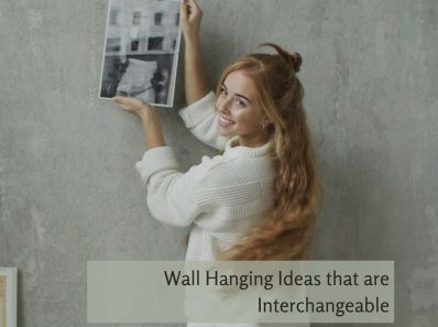 Wall Hanging Ideas that are Interchangeable