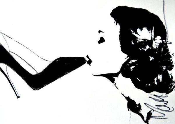 High Heel Art - The stiletto kiss by Mark Schwartz.