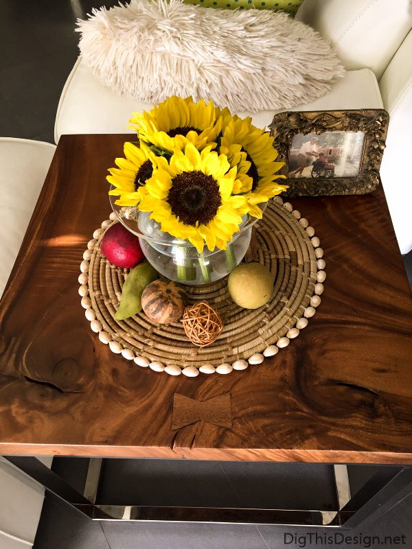 Easy fall decorating ideas using natural materials dig this design - Fall natural decor ideas rich colors ...