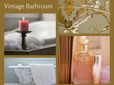 Elements of a Vintage Bathroom