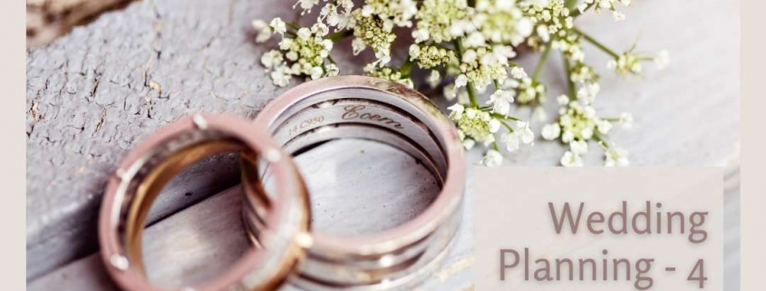 Wedding Planning - 4 Tips for a Unique Wedding
