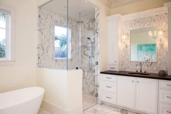 Bathroom Remodels - Consider your budget before you begin a bathroom remodel.