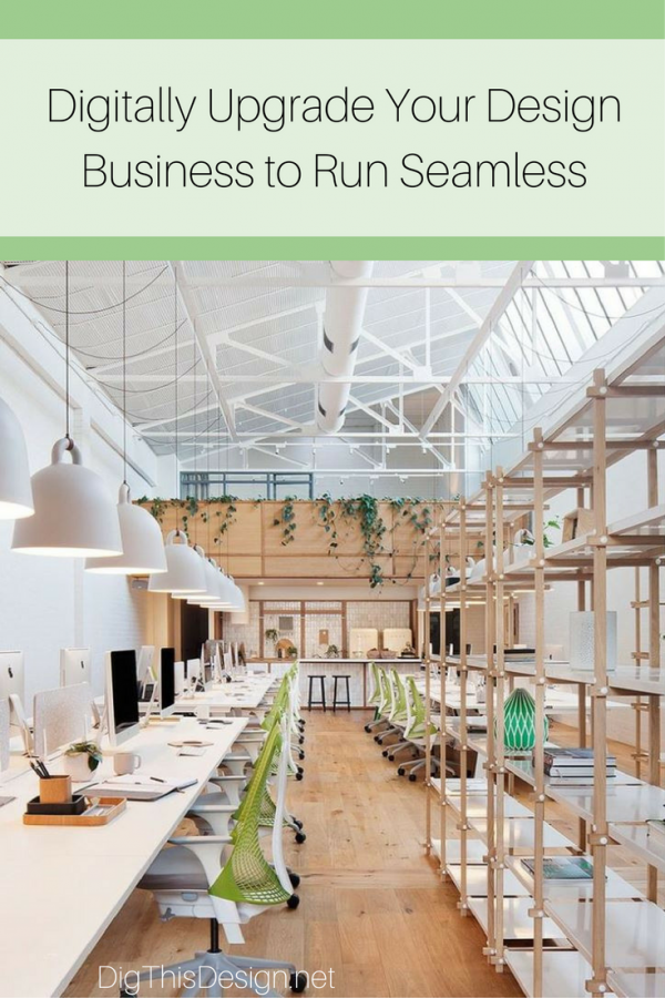 Design Business - Running your business digitally makes sense in today's world.