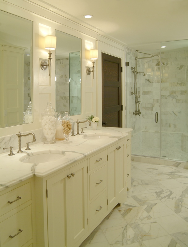 Bathroom Remodels - Lighting is one of the most important parts to designing your bathroom.