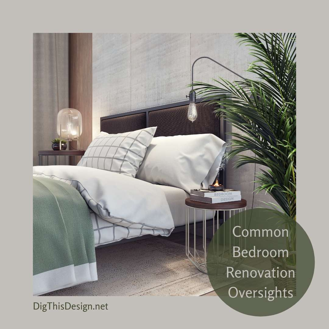 Common Bedroom Renovation Oversights