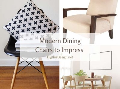 Modern Dining Chairs to Impress