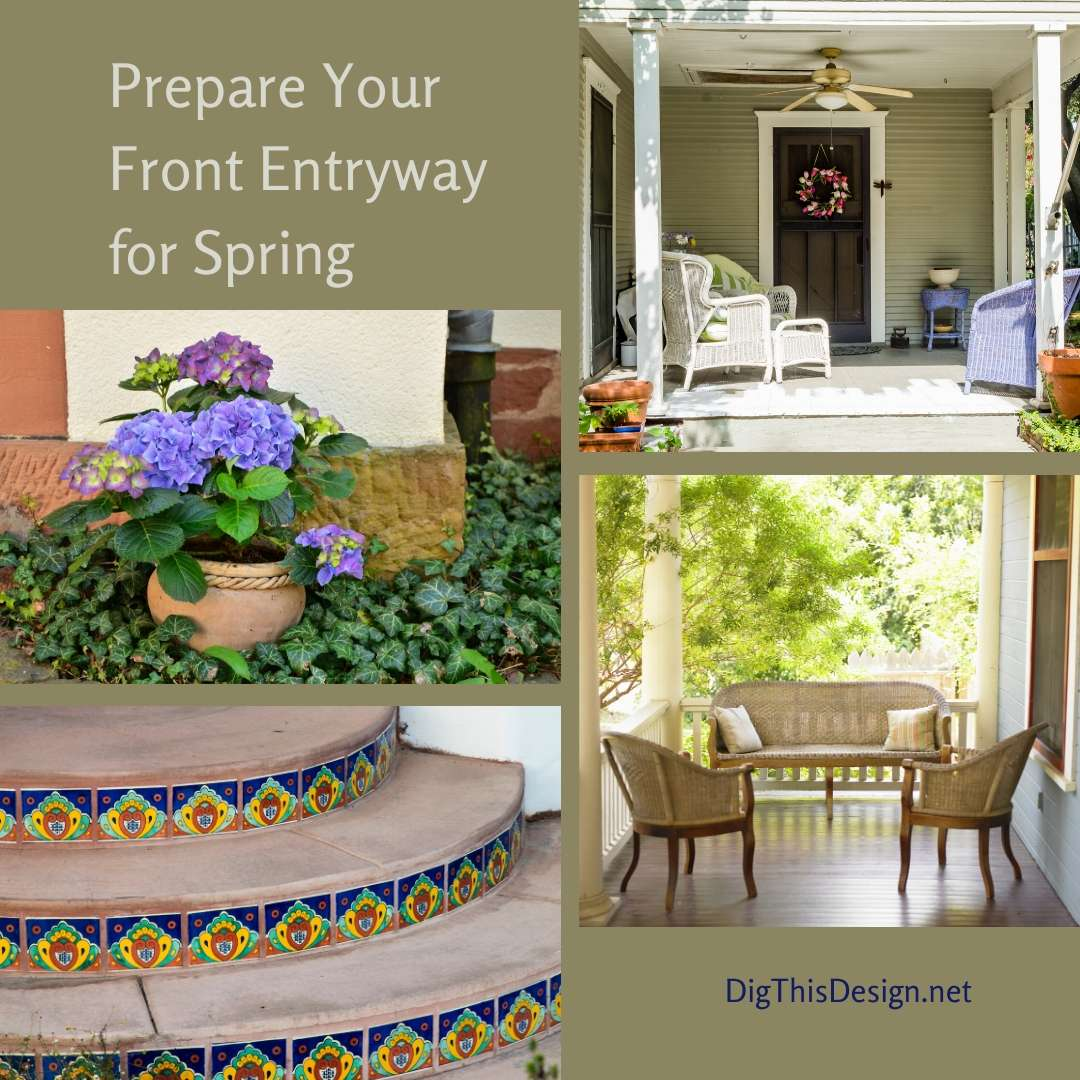 Prepare Your Front Entryway for Spring