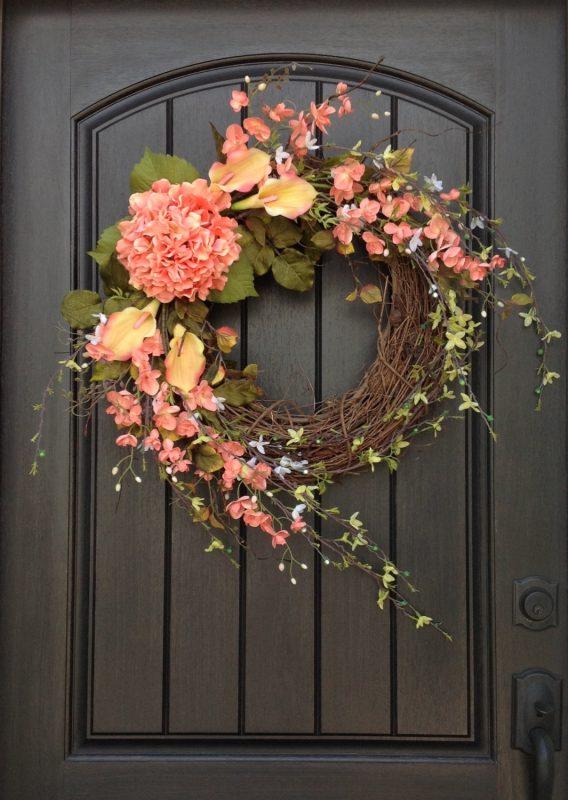 Spring decor ideas- spring wreaths