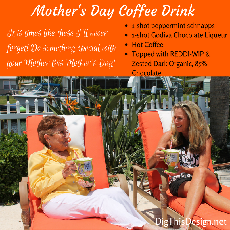 Mother's Day Coffee Drink