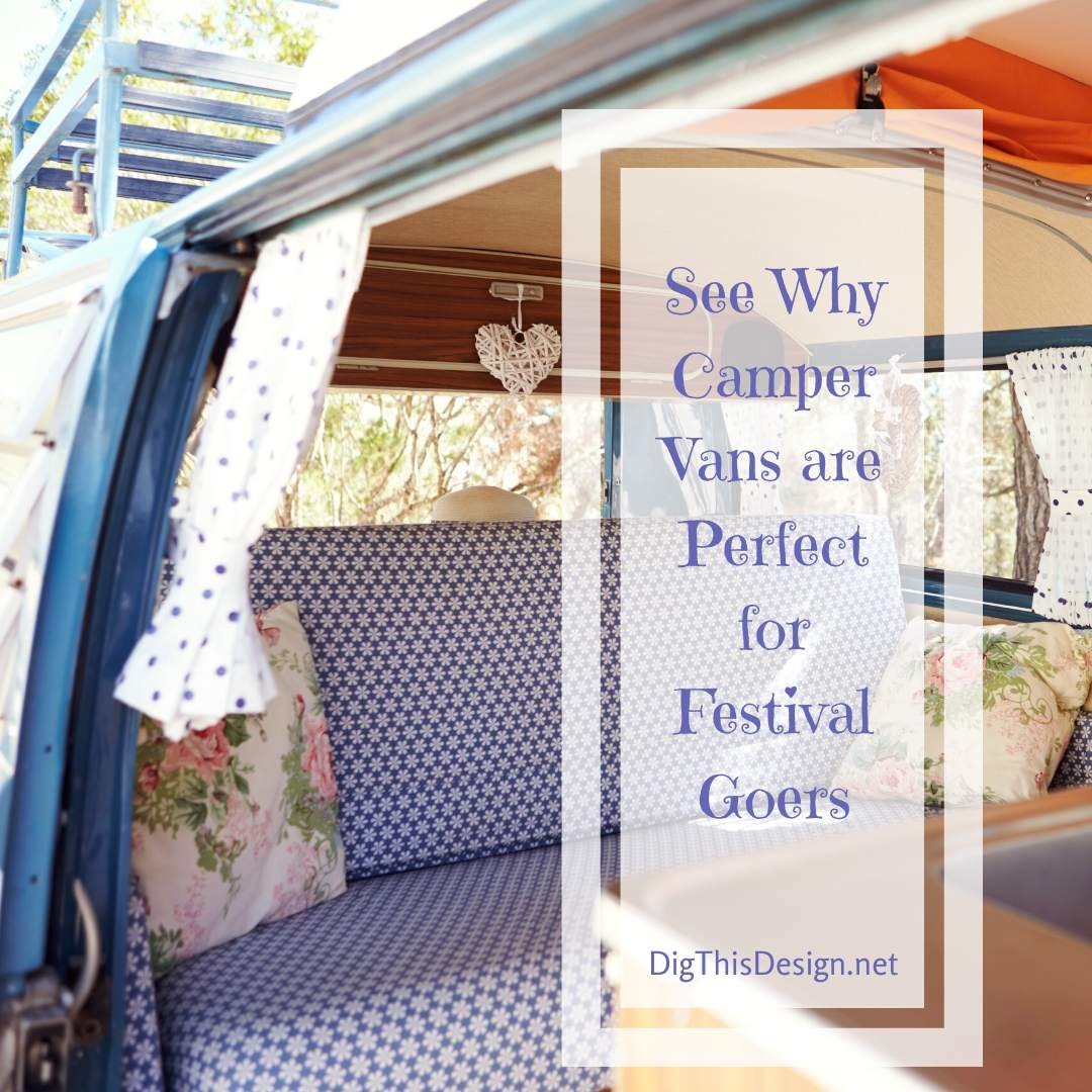 Camper Vans are Perfect for Festival Goers