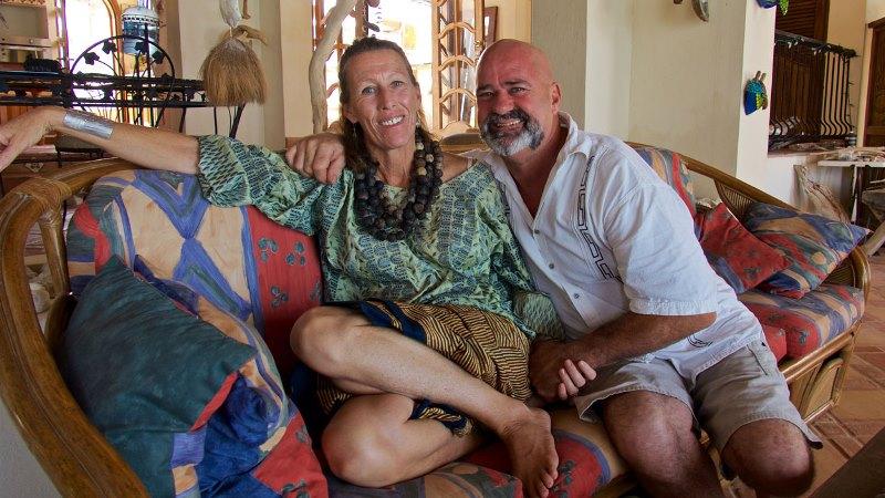 Jane Maroni and Chris Maroni