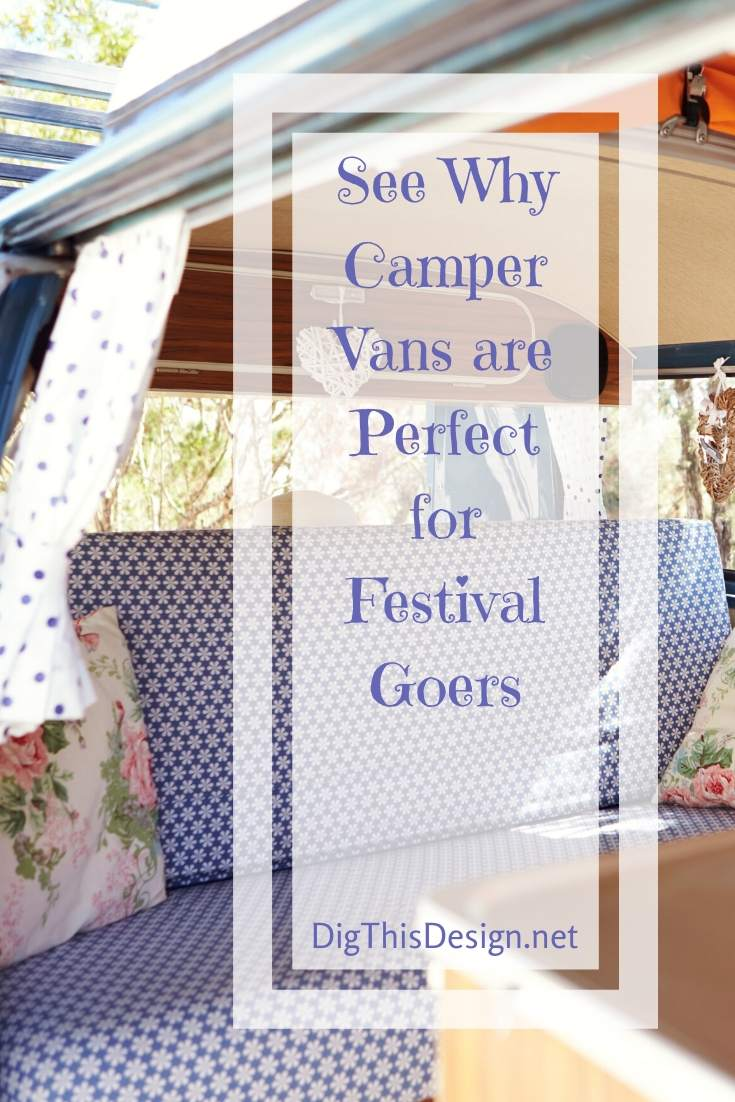 See Why Camper Vans are Perfect for Festival Goers