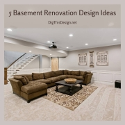 5 Basement Renovation Design Ideas