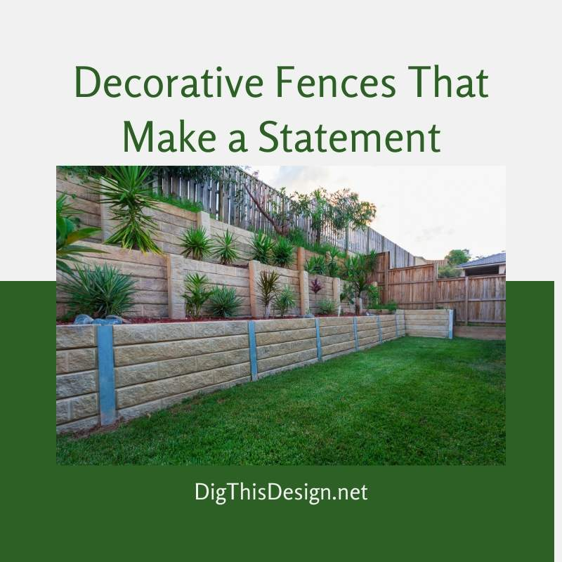 Decorative Fences That Make a Statement