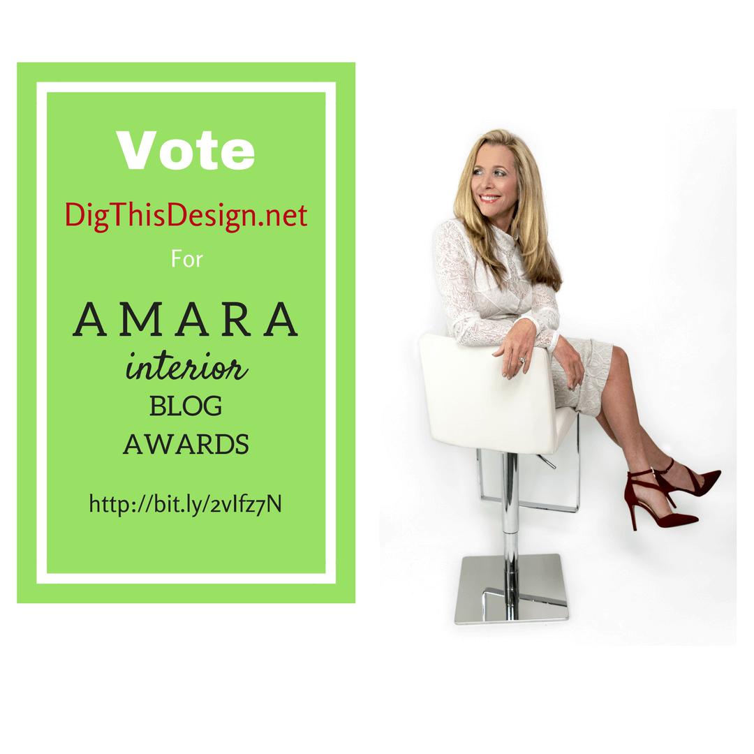 Amara Interior Blog Award - DigThisDesign