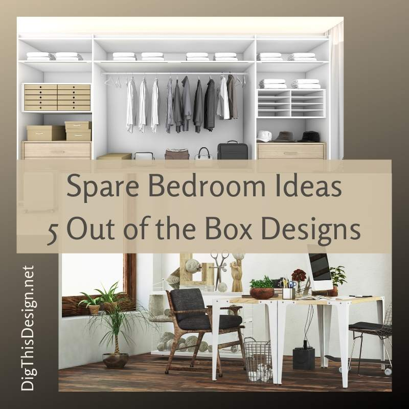 Spare Bedroom Ideas 5 Out of the Box Designs