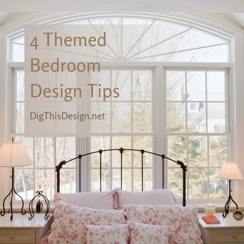 4 Themed Bedroom Design Tips