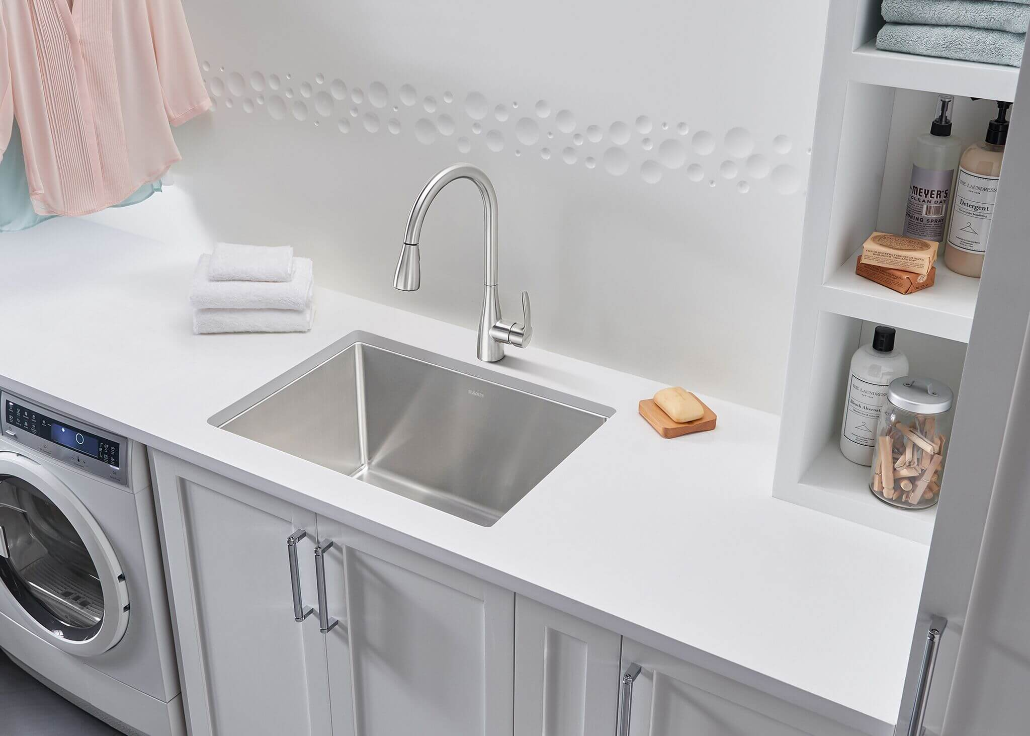 Laundry room - BLANCO is the leader in laundry room sink designs.