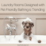 Laundry Room - Designed with Pet-Friendly Bathing is Trending (1)